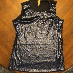 Violet & Claire sequined tank